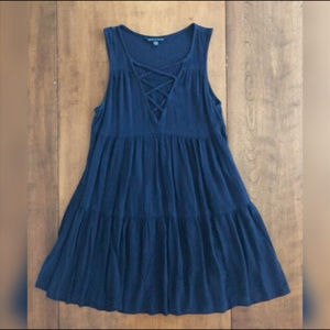 AMERICAN EAGLE OUTFITTERS SLEEVELESS DRESS Small